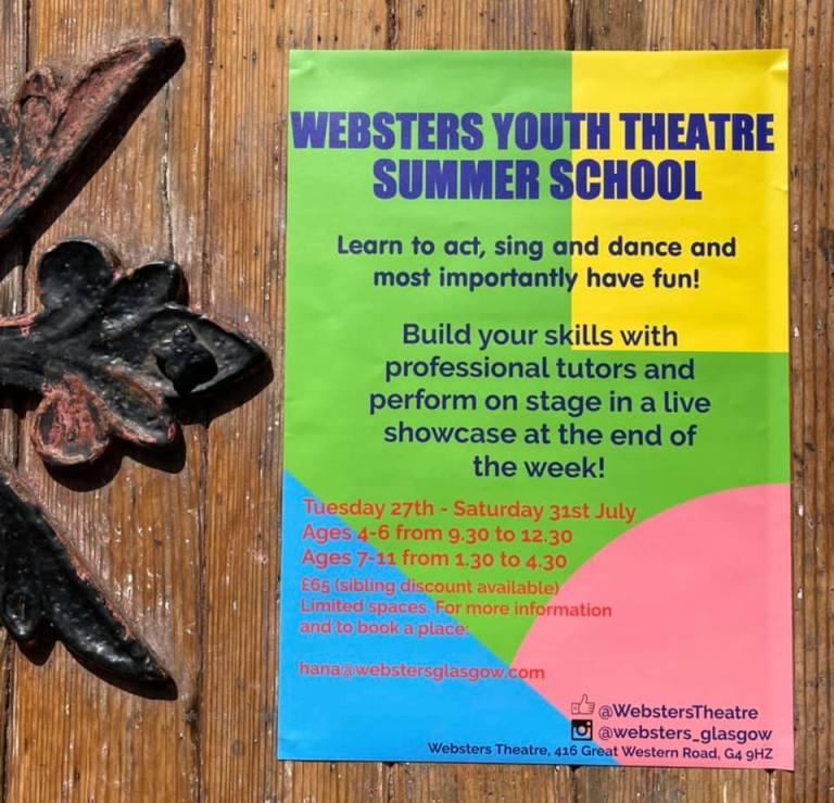websters summer school