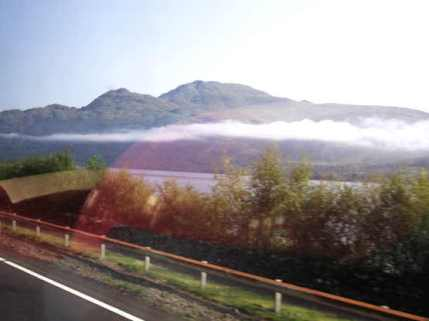 cloud over loch lomond w d
