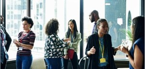 networking climate cafe