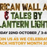 African Wall Art and Stories by Lantern Light