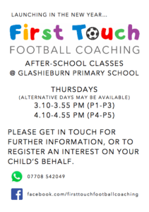 first-touch-fc-glashieburn-advert-poster