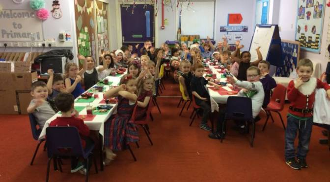 P1 Christmas Party