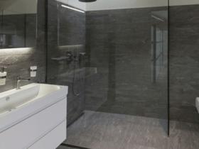 Huis inspiratie glazen douchewand schoonhouden huis