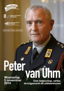 """Peter van Uhm: """"Soldatenhumor en humor in het algemeen is eigenlijk een wapen"""""""