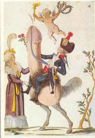Spotprent Marie-Antoinette