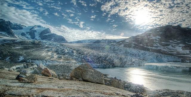 """Louwrens Hacquebord: """"Een enorm grootschalig landschap waar je met je kleine tentje helemaal in verdween"""""""