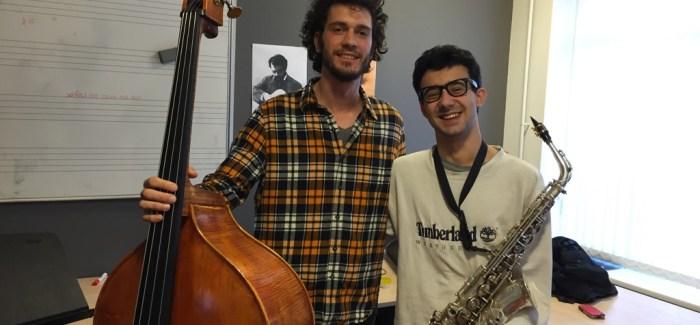 30 Secunden (6) – Filippo & Eugenio | contrabas & altsaxofoon