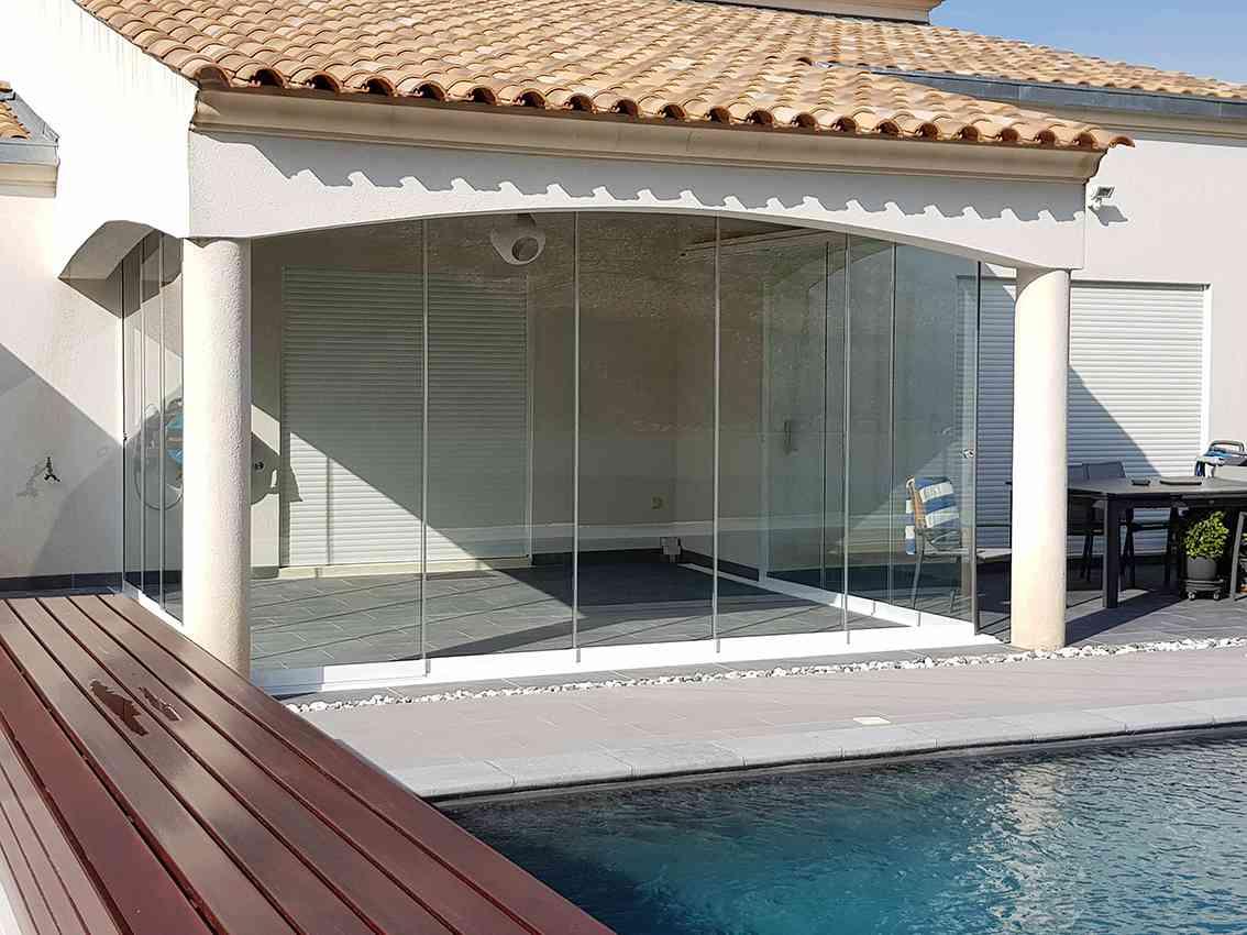 fermetures en verre pour terrasses