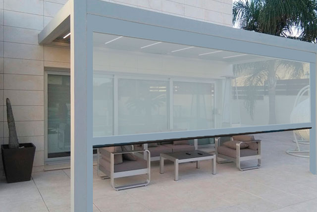le store vertical motorise habitat zip