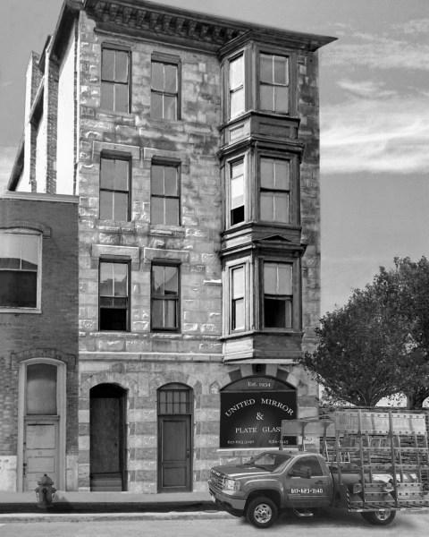 Where it all began: 98 West Brookline Street Boston MA