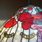 Glass Trench Art Handmade Tiffany Lamps Glass Trench Art
