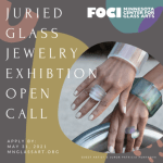 Foci Minnesota Center for Glass Arts - Juried Glass Jewelry Exhibition Open Call