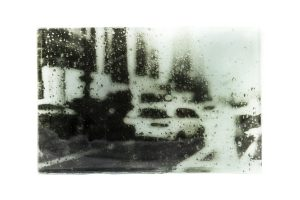Through the rained glass (laminated)