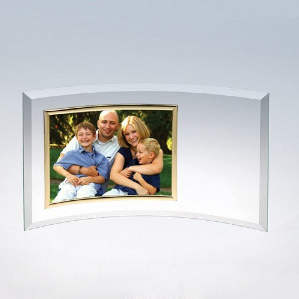 Curved Glass Horizontal Frame
