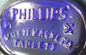 Phillips Milk of Magnesia Tablets bottle base