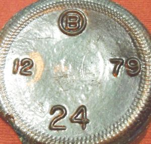 Brockway ~B-in-a-circle Mark - 1979 bottle