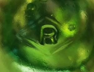 R inside a diamond (pic courtesy Veronica Cross)