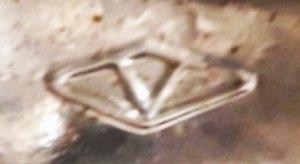 V in a diamond, Diamond Glass, Vienna (photo courtesy Dannie Lynn)