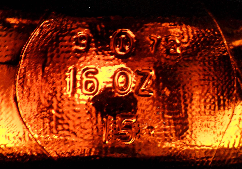 1930s PEPPERS CLUB SODA BOTTLE LABELS Neck Bottle DIAMOND SHAPE