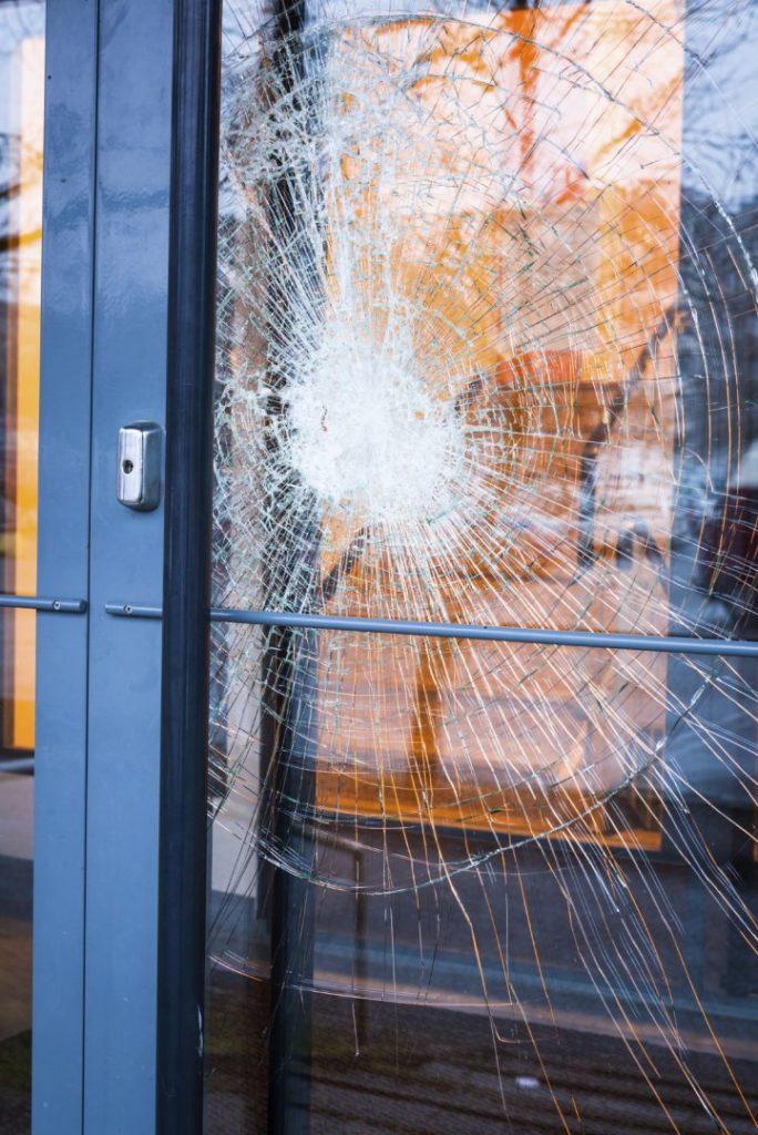 Broken Glass Door New York City Shower Doors