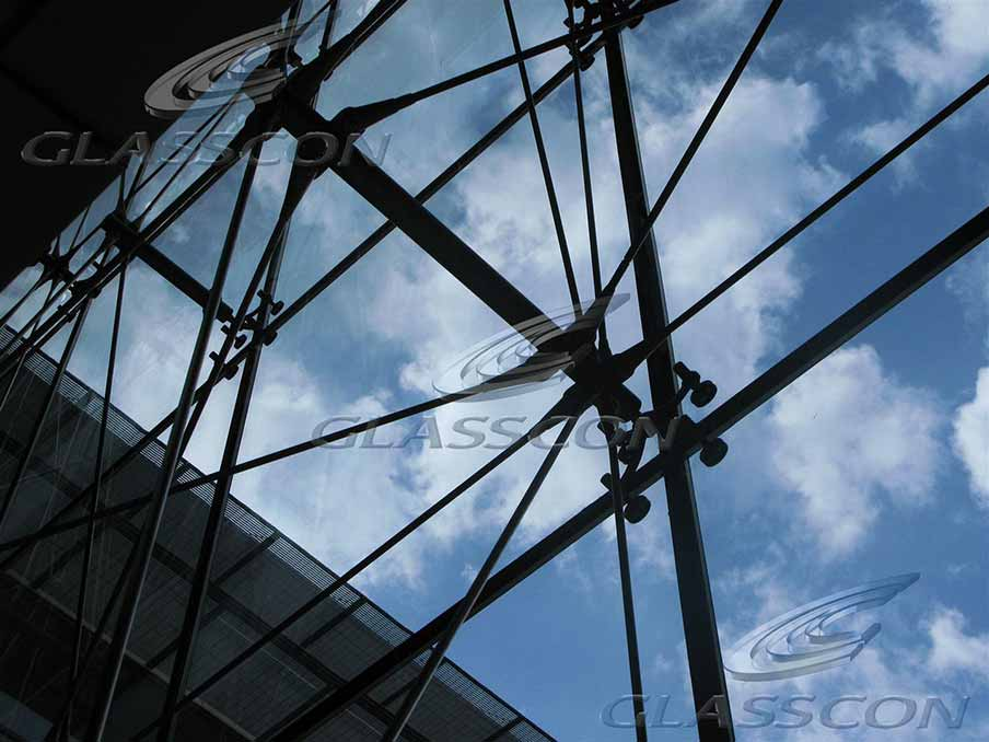spider glass curtain wall tension rod