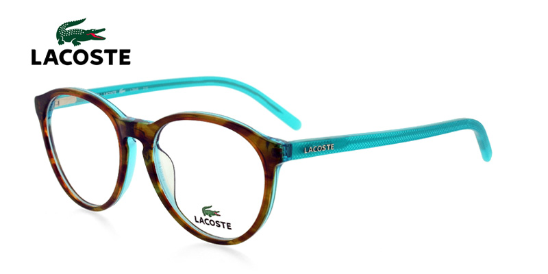 426ee32bfba Lacoste L2648 Clear Tortoise w Aqua Glasses