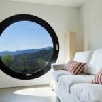 fenêtre ronde, oculus schuco