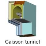 volet caisson tunnel