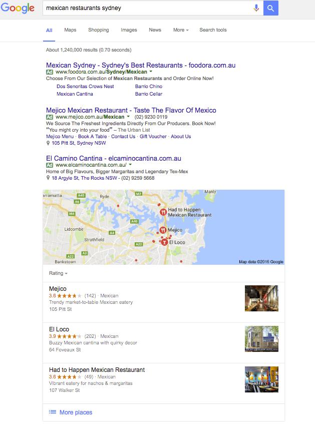 Closest Restaurants My Current Location