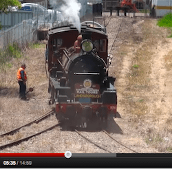 Steam Train to Landsborough on the 6th of November 2010 – Part ONE