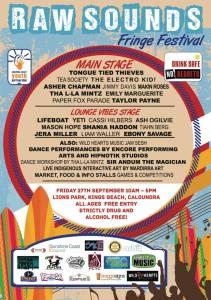 Raw Sounds Fringe Festival September 2013