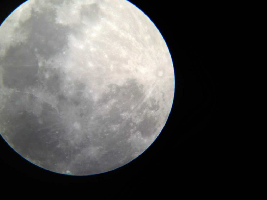 2014-08-10 20.04.59 HDR Super Moon in Beerwah on Sunday 10th August 2014