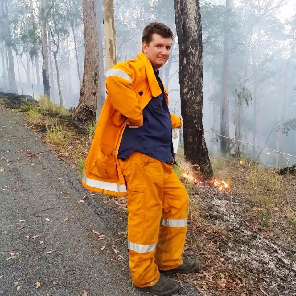 Ben Lettres Rural Fire Service Landsbrough