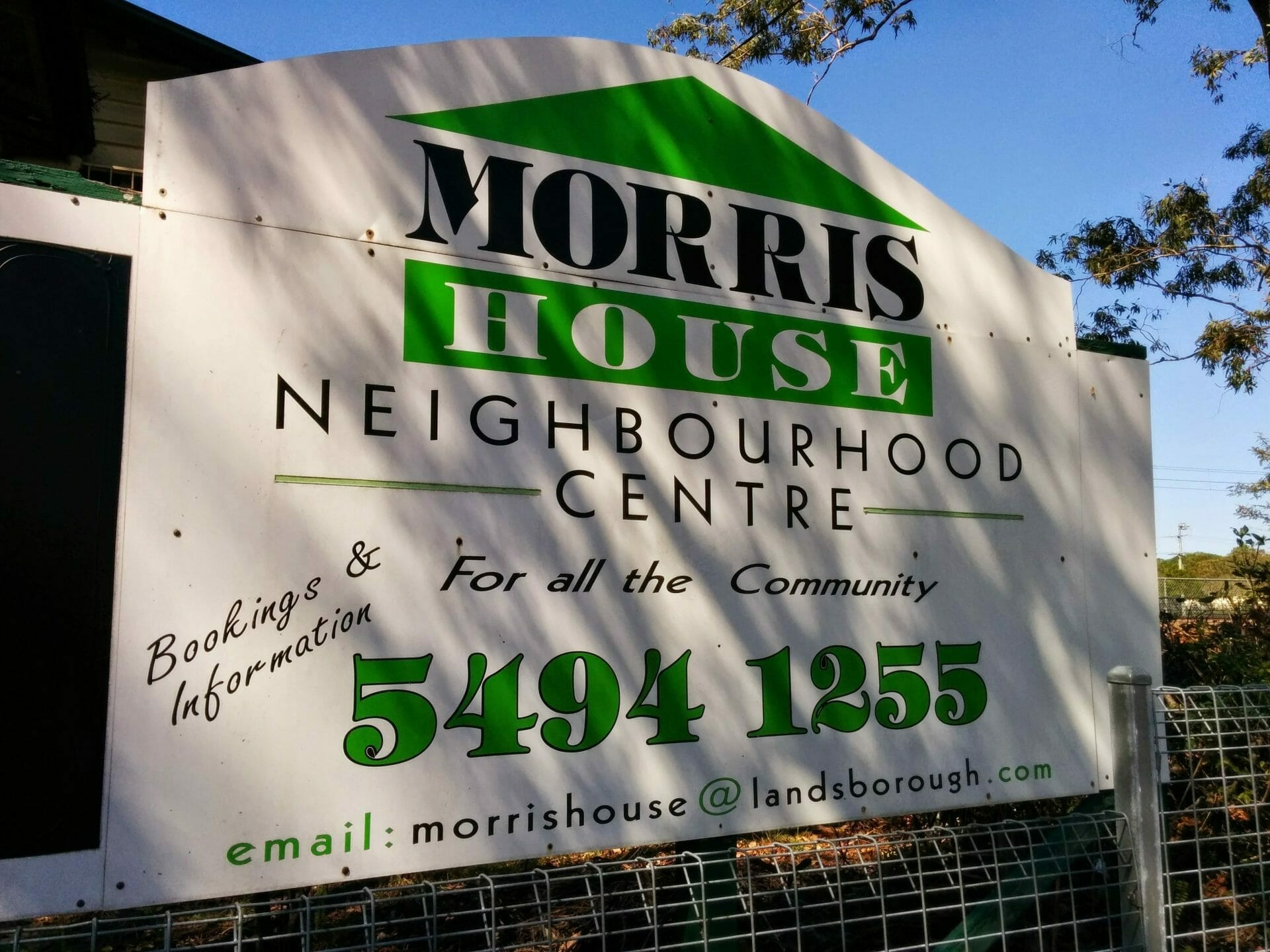 Morris House Sign