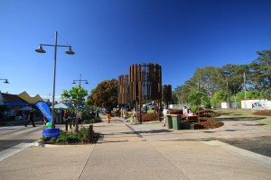 A View of the New Water Towers (All 200 Beerwah Street Party and Celebration Photos 2014)