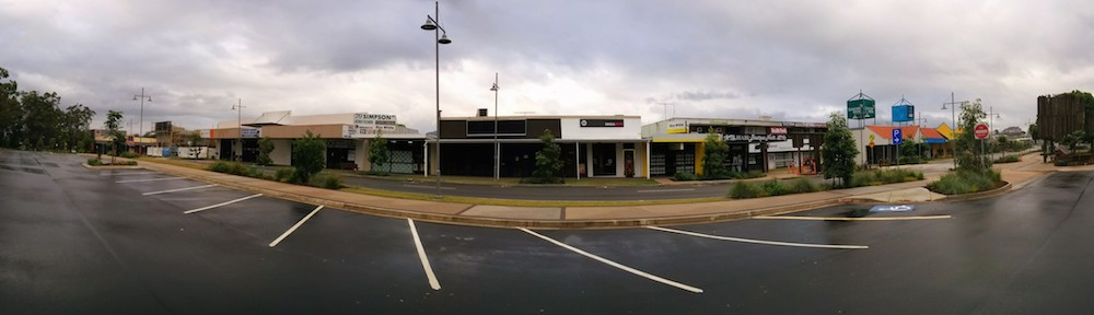 A View from the Carpark looking over towards Beerwah Medical Centre