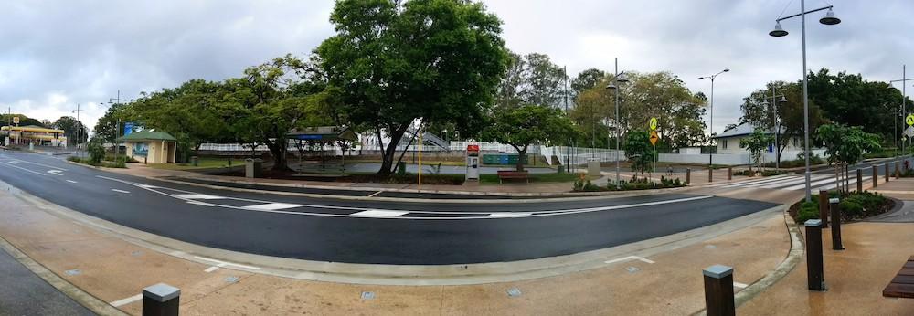 A view of Apex Park 2014