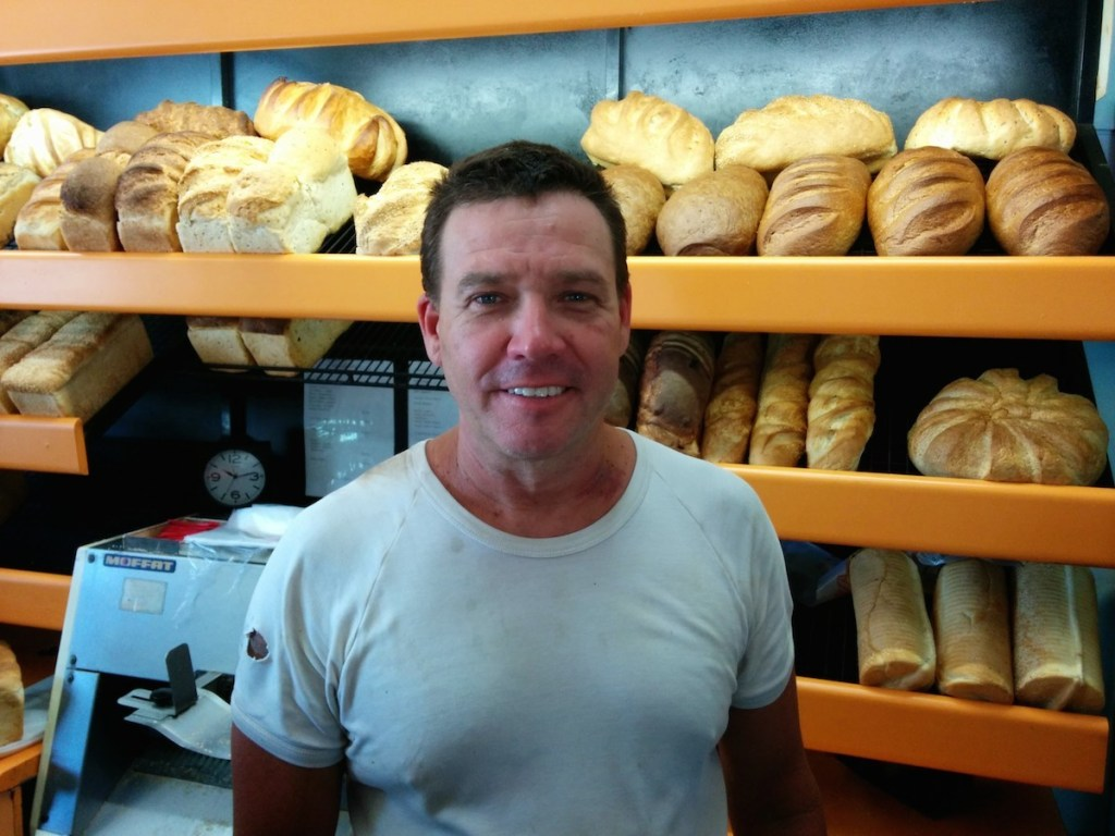 Graig Denson from Eureka Bakehouse in Mooloolah November 2014