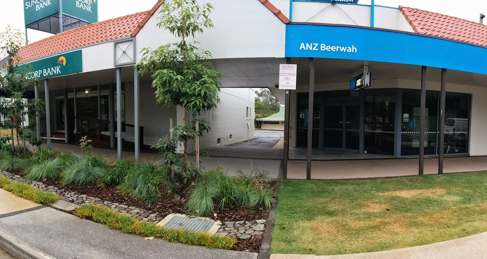 Suncorp Bank Beerwah and ANZ Bank Beerwah 2014