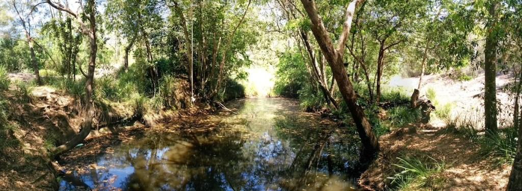 The Beerwah Waterhole Coochin Creeek Whirlpool 2014