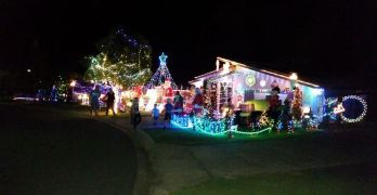 Glasshouse Country Christmas Lights 2014