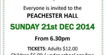 A Peachester Tradition: Peachester History Committee Christmas Barbecue