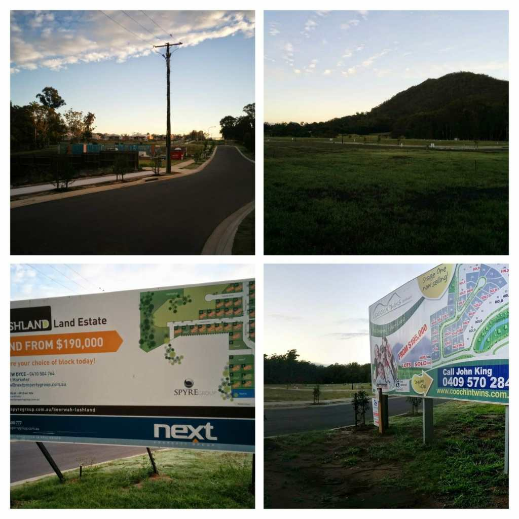 Lushland and Coochin Twins Estates in Beerwah