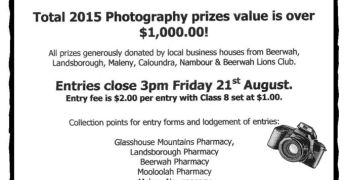 Beerwah Charity Sports & Spring Carnival: August 22, 2015