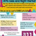 FRIDAY 11th September 2015 - GHMSS ARTS Gala and NIGHT Market
