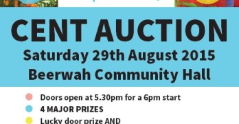Cent Auction this Saturday for Beerwah and District Kindergarten