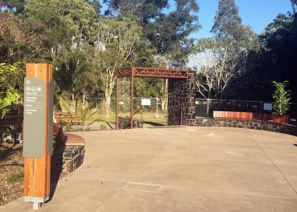 New Turner Park Entry