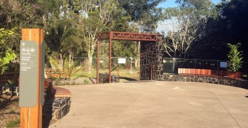 Beerwah's Turner Park Entrance is a Changing