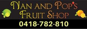Ad Nan and Pops Online Fruit Shop 300x100 Phone 0418-782-810