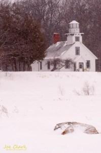 Old Mission Lighthouse. By Joe Clark.
